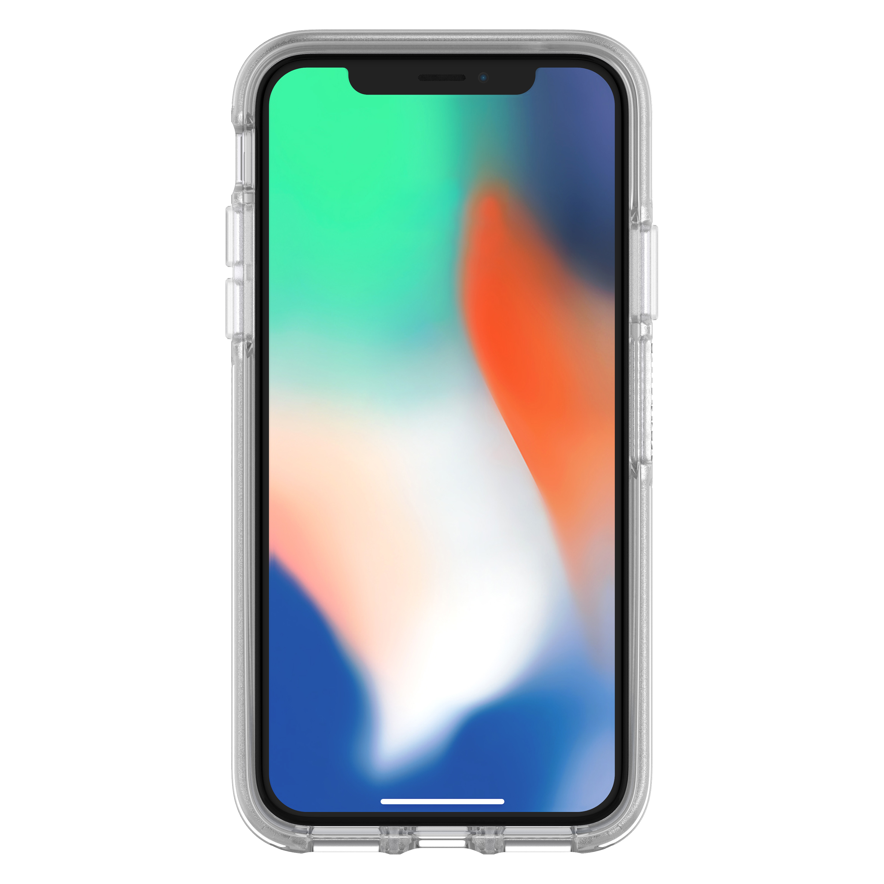 innovative design cc156 52ac7 OtterBox Symmetry Series Clear Case for iPhone X, Clear
