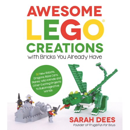 Dragon Rare Card (Awesome Lego Creations with Bricks You Already Have: 50 New Robots, Dragons, Race Cars, Planes, Wild Animals and Other Exciting Projects to Build Imaginative)