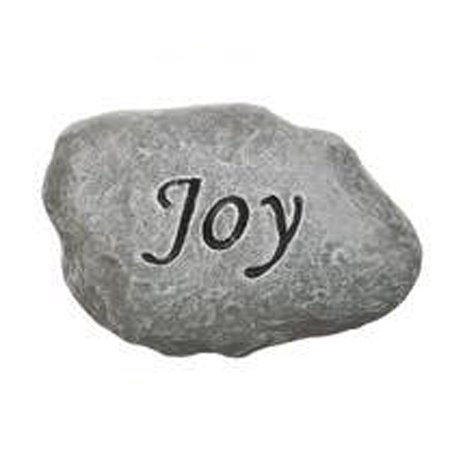 Joy Miniature (Joy - Miniature Inspirational Stepping Stone - Garden Fantasy Collection by Ganz)