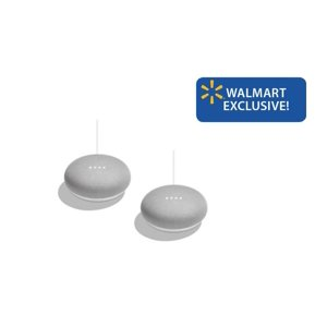Google Home Mini, Chalk 2-pk Walmart Exclusive Deal