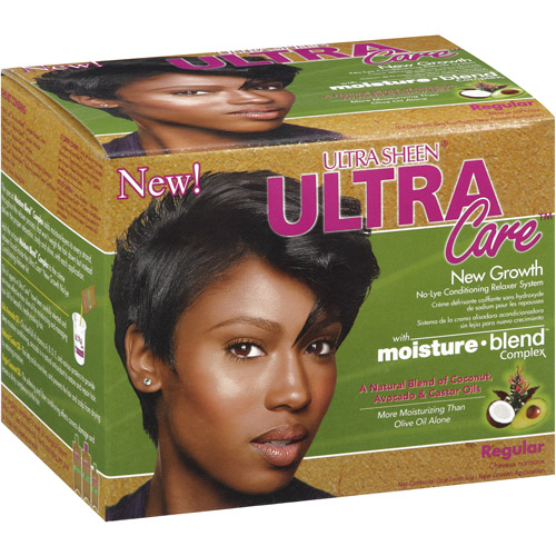 Ultra Sheen Ultra Care No-Lye Conditioning New Growth Regular Relaxer System
