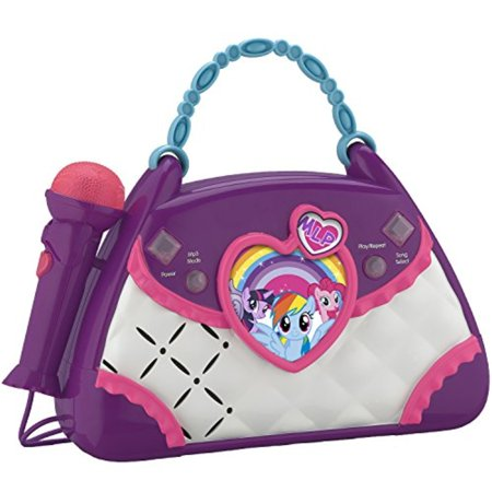My Little Pony Magical Music Sing Along Boombox - Halloween Sing Along Cd