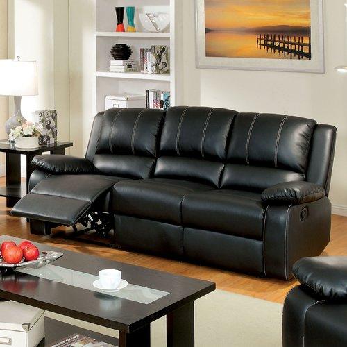 Hokku Designs Jerriste Reclining Sofa by Enitial Lab