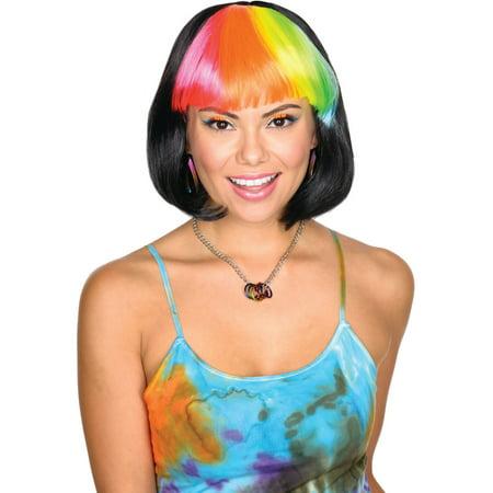 Women's Party Cutie Black Wig Costume Accessory](Black Wig Party City)
