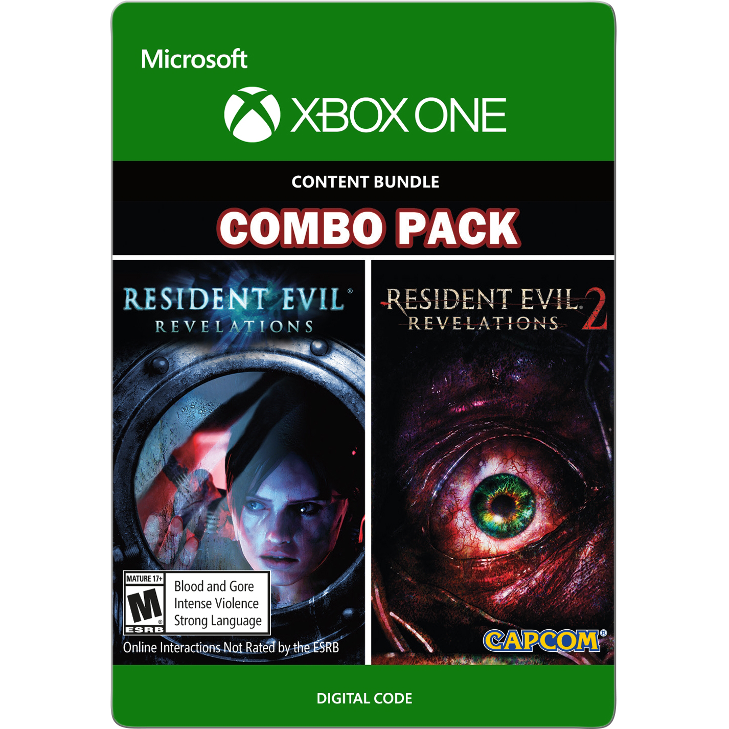 Xbox One Resident Evil Revelations 1 & 2 Bundle (email delivery)