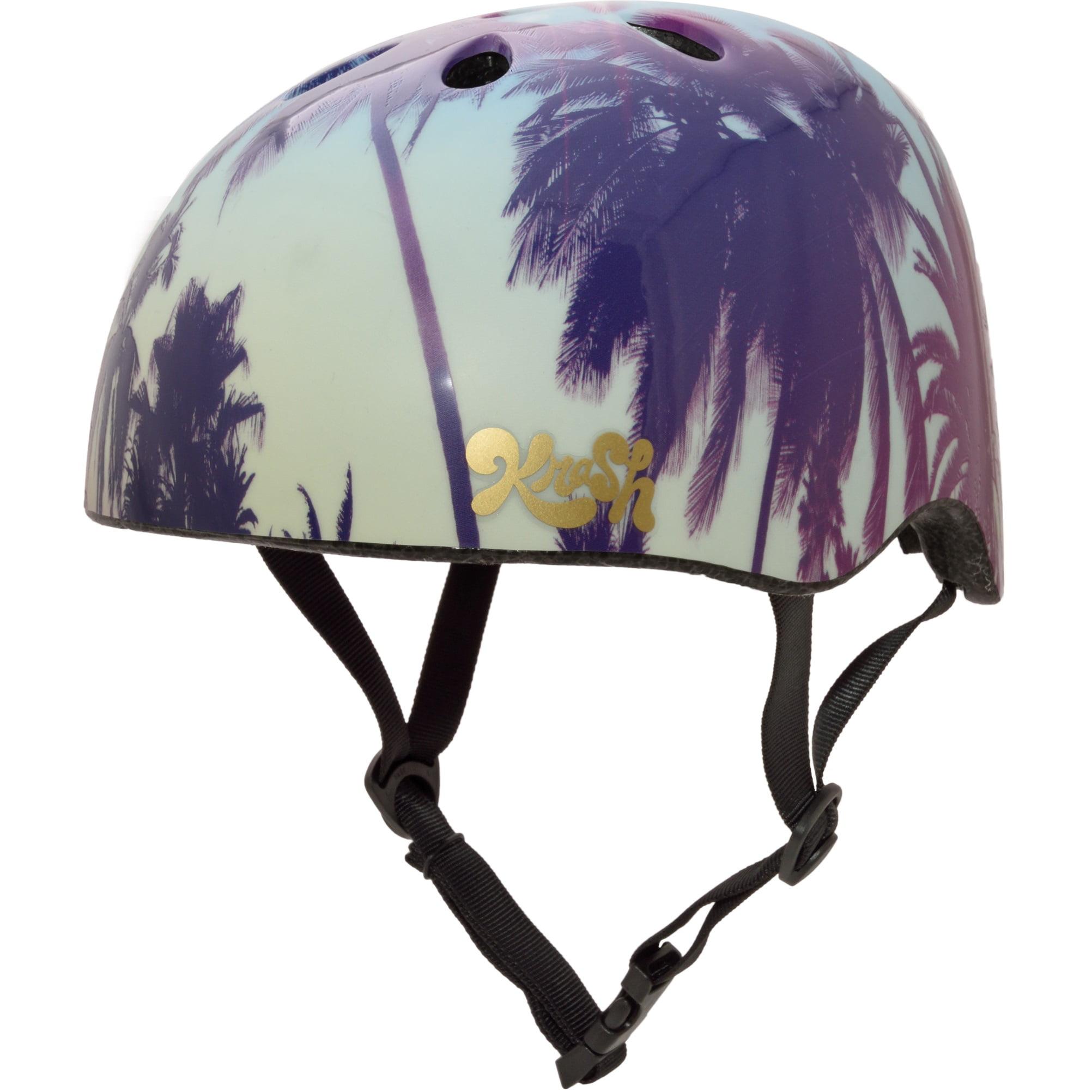 Krash! Palm Trees Helmet, Youth 8+ (54-58cm)