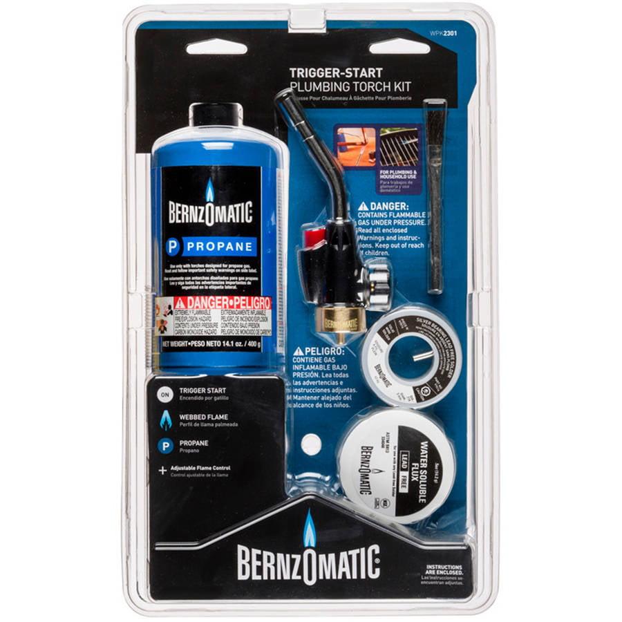Bernzomatic Multipurpose Trigger-Start Plumbing Torch Kit by Generic