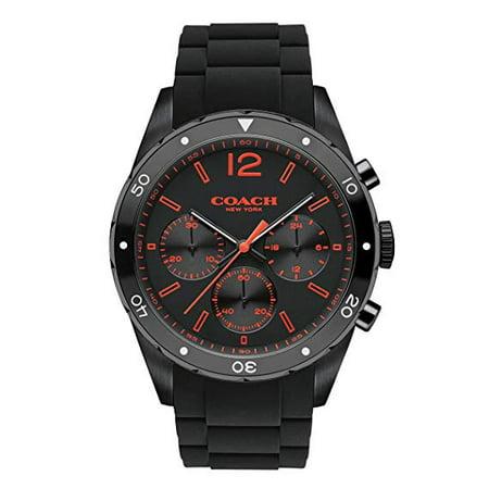 Mens Coach Series Sports Watch (COACH  Men's Sullivan Sport 44mm Black Watch )