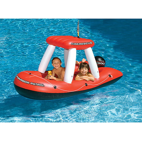 Fireboat Squirter Inflatable Pool Toy by INTERNATIONAL LEISURE PRODUCTS
