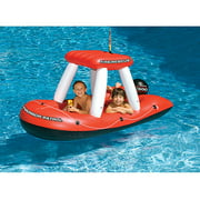 Swimline Water Sports Squirter Inflatable Fireboat Pool Toy