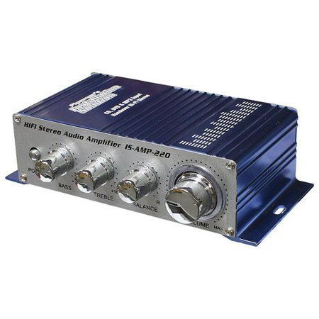 Installation Solutions Mini Stereo Amplifier With 3.5 Aux
