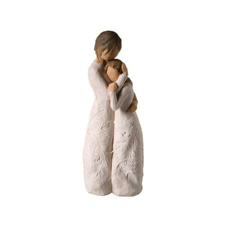 Close To Me Sculpture - Embracing Statue - From Willow Tree Willow Wall Sculpture