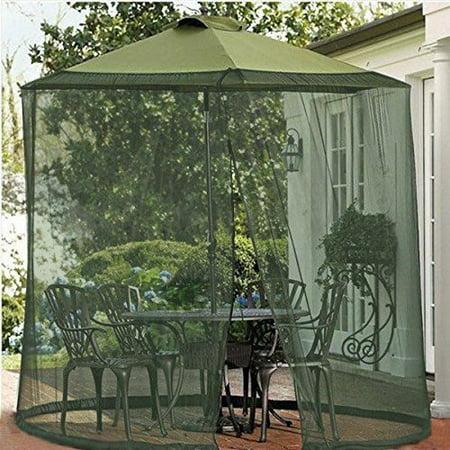 Shatex Mosquito Net Canopy Patio Table Umbrella Outdoor ...