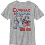 Cuphead Boys' Best Friend Mugman T-Shirt