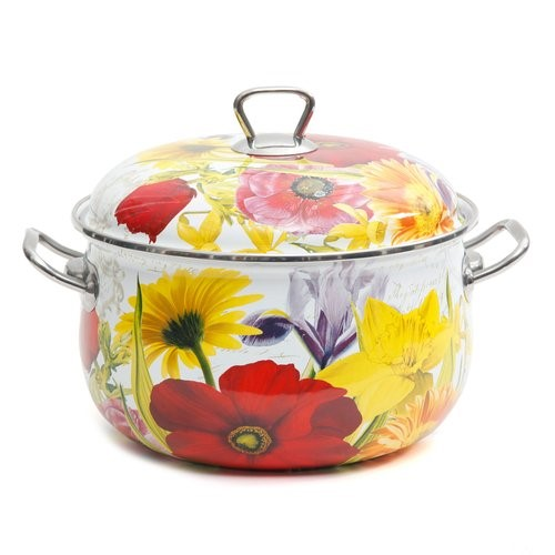 The Pioneer Woman Floral Garden Dutch Oven by Gibson Oveseas Inc.