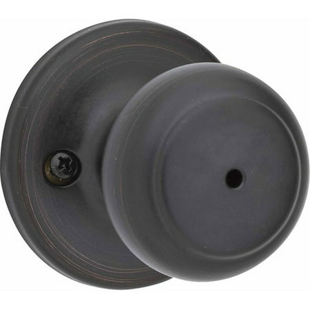 Kwikset Venetian Bronze Cove Privacy Knob Lockset