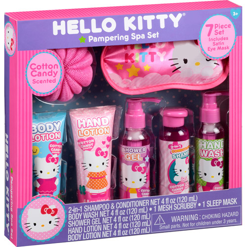 Hello Kitty Pampering Spa Set, 7 pc