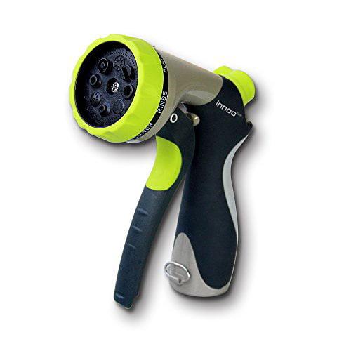 Innoo Tech Garden Hose Nozzle 8 Spray Modes High-Pressure Hand Sprayer for Car Washing,... by Innoo Tech