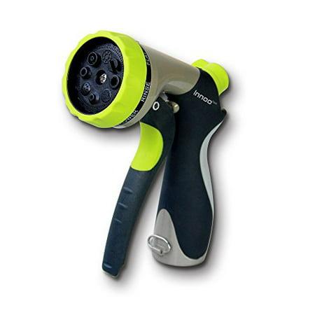Innoo Tech Garden Hose Nozzle 8 Spray Modes High-Pressure Hand Sprayer for Car
