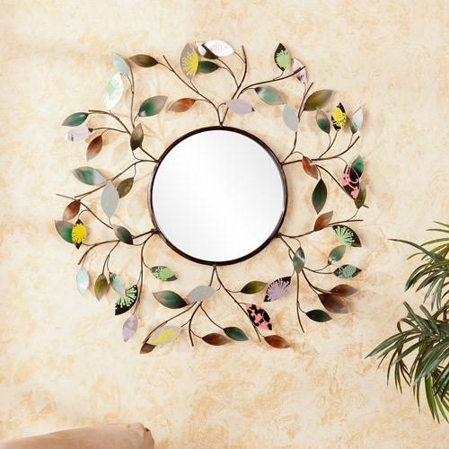 Clovis Decorative Wall Mirror, Multi-Color