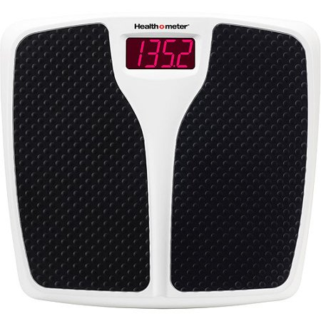 Health O Meter HDR743 Digital Bathroom Scale (350 lb Capacity) (Bath Scales Digital Body Fat)