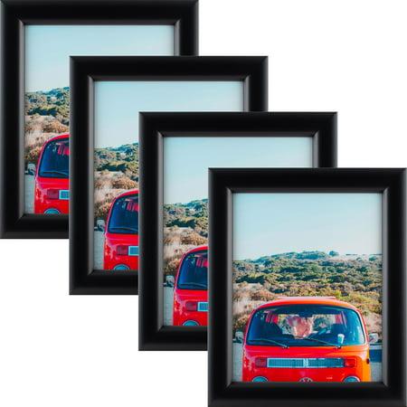 Craig Frames Bullnose 125, Mystic Satin Black Picture Frame, 17x22 ...