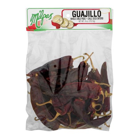 (2 Pack) Milpas Whole Chili Pods Guajillo, 6 oz