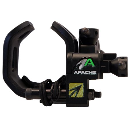 New Archery Products Apache Drop-Away Arrow Rest, (Black Arrow Rest)