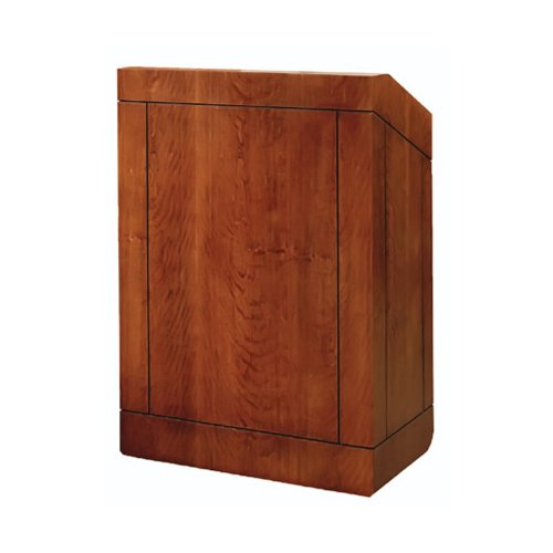 "Da-Lite 25"" Providence Lectern Stacking With Sound System Standard Laminate"