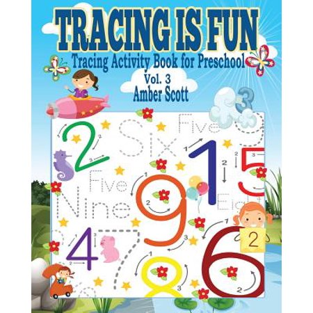 Tracing Is Fun (Tracing Activity Book for Preschool) - Vol. 3