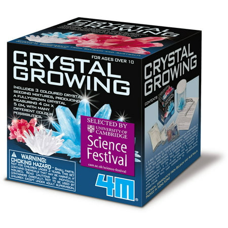 4M Crystal Growing Science - Kids Science Kits