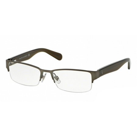 67f96b17997 Polo Ralph Lauren PH1158-9050 Rectangular Men Gunmetal Frame Genuine  Eyeglasses - Walmart.com