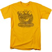 Sun Records Mens Short Sleeve Shirt
