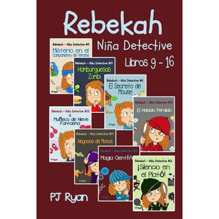 Historias De Vampiros Para Halloween (Rebekah - Nina Detective Libros 9-16: Divertida Historias de Misterio Para Nina Entre 9-12)