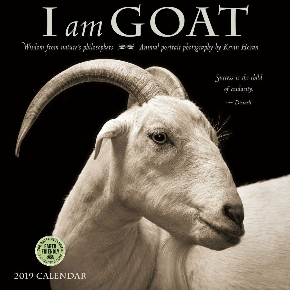 I am Goat Wall Calendar, Farm Animals by Calendars