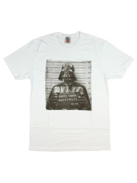 fc388ef3 Product Image Men's Star Wars Darth Vader Mugshot T-Shirt The Dark Side  Sith Lord Empire MD