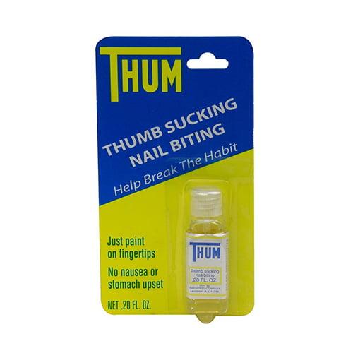 Thum Liquid Stops Thumb Sucking And Nail Biting - 0.2 Oz, 2 Pack