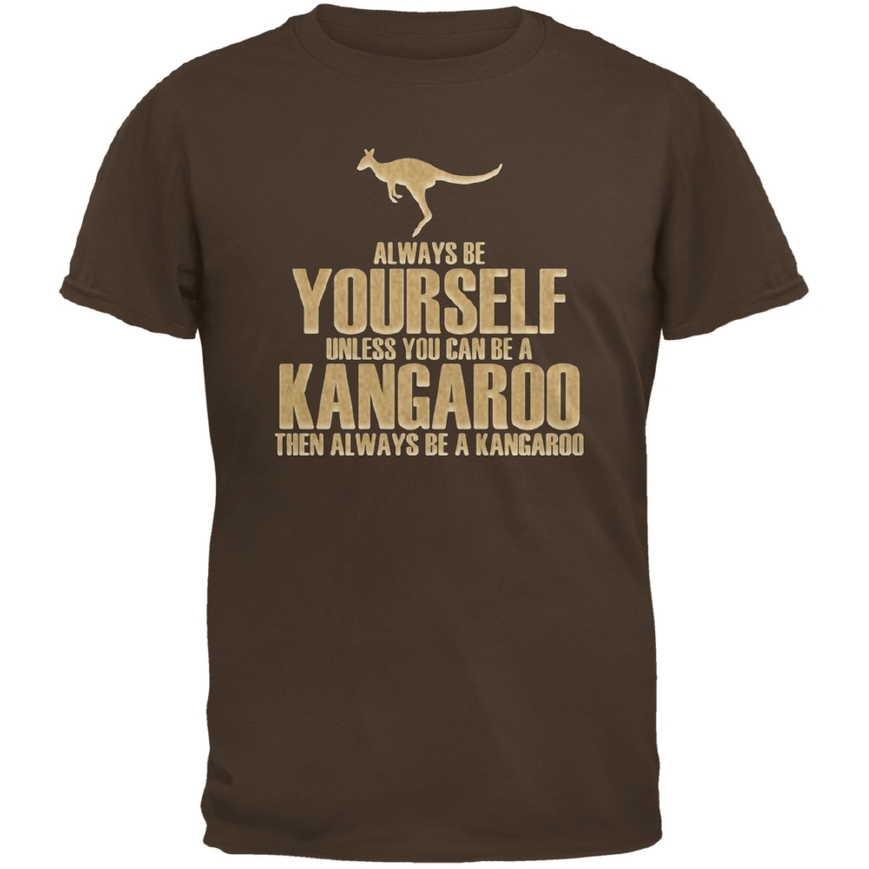 Always Be Yourself Kangaroo Brown Youth T-Shirt