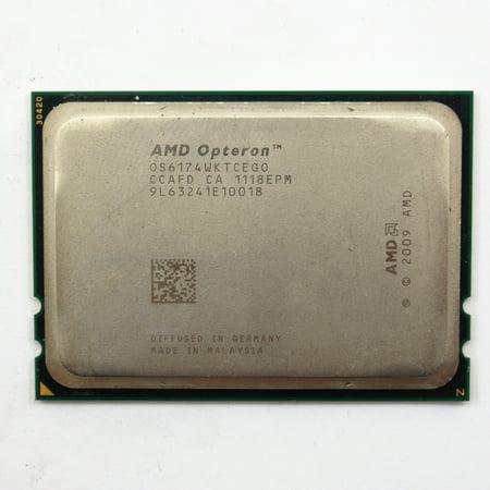 AMD Opteron 6174 2.20GHz G34 Socket 12-Core Server CPU Processor OS6174WKTCEGO (Best Processor For Server 2019)