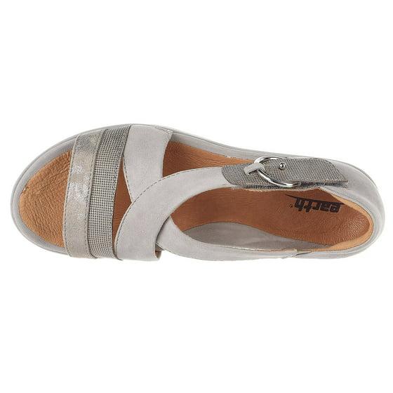 bec9fc1553 Earth - Earth Hibiscus - Women's Platform Wedge Sandal Light Grey ...
