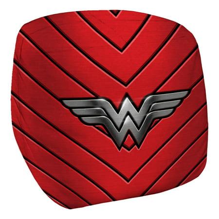 Justice League JLA Wonder Woman Emblem Bean Bag Chair White 33X33X31