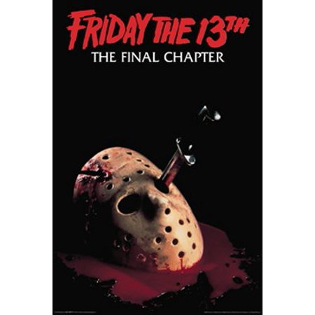 Friday The 13th Movie Poster The Final Chapter New 24x36