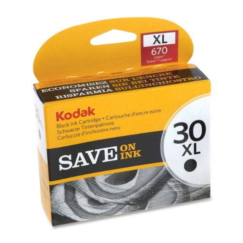 Kodak No. 30XL Ink Cartridge - Black - Inkjet - 670 Page