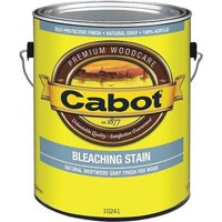 Cabot-Valspar 218397 1 gal Weathered Look Exterior Bleaching Stain