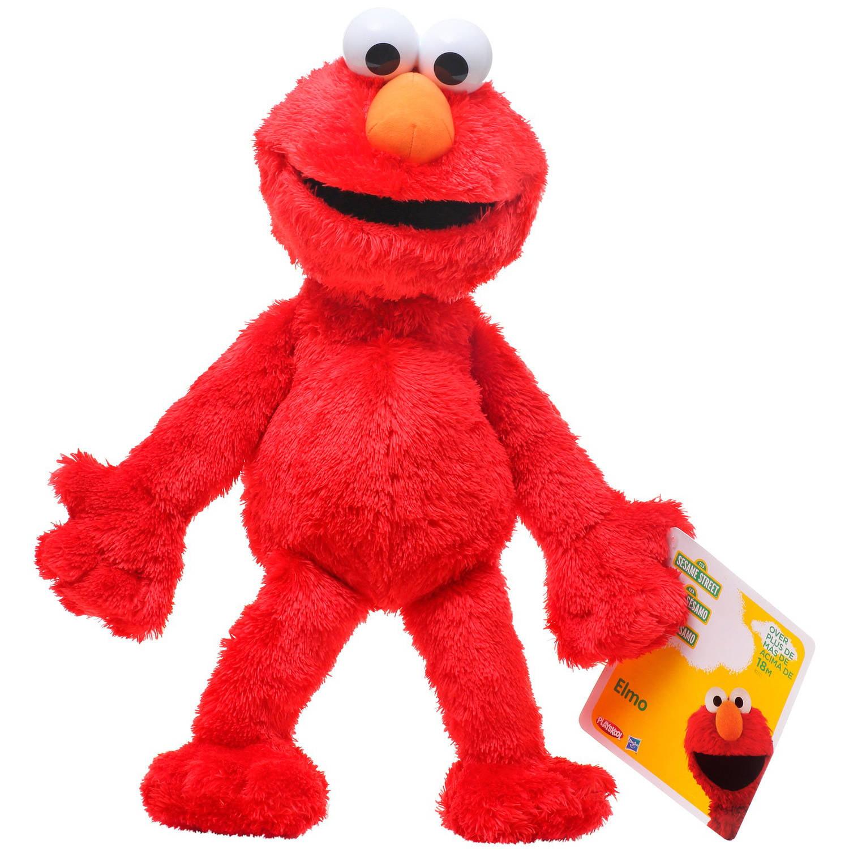 4ad2bfe5b7 Playskool Sesame Street Elmo Jumbo Plush - Walmart.com