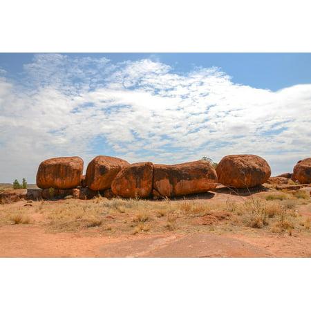 Framed Art For Your Wall Rock Karlu Karlu Devils Marbles