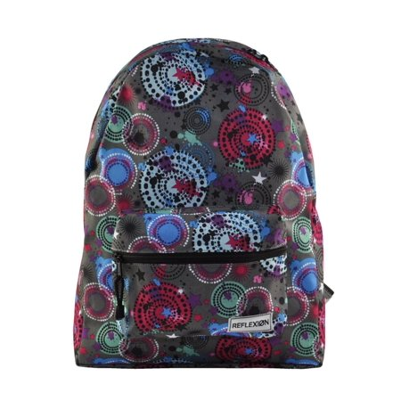 Girls Women Multicolor Back to School College Backpack Tote