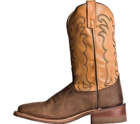 Smoky Mountain Mens Buffalo Eh Work Boot Round Toe 4470