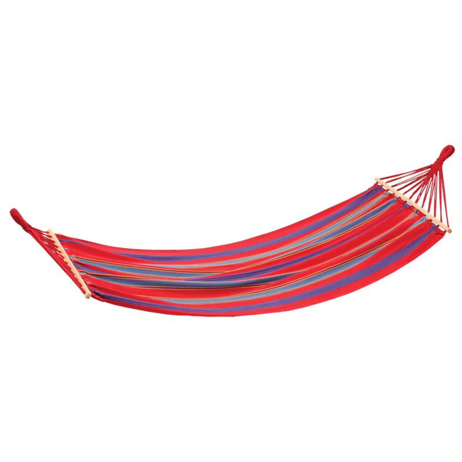 Stansport 30800-60 Bahamas Cotton Hammock Single Red 78 In X 37 In by Stansport