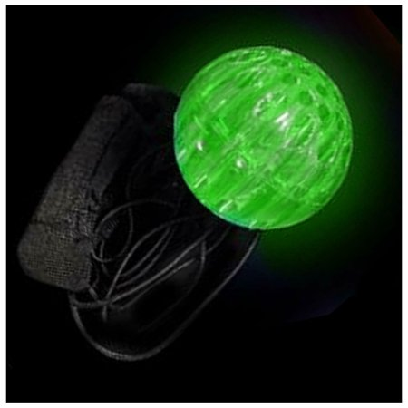 LED Flashing Light Up Orbit Poi Ball Rave Toy, Perfect for Dances and